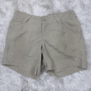 Columbia PFG Omni Shade Nylon Shorts Womens Small